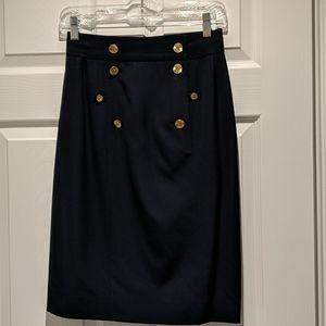 Chanel Navy skirt